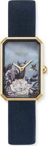 Engelsrufer Uhr nachtblau / gold