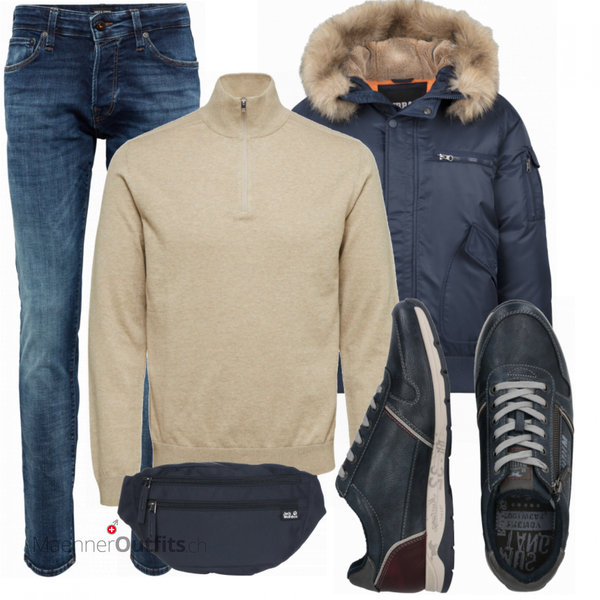 Cooles Winter Outfit MaennerOutfits.ch