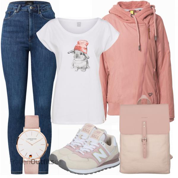 Schönes Frühlings Outfit FrauenOutfits.de