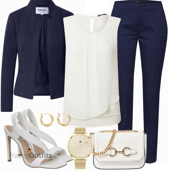 Schönes Business Outfit FrauenOutfits.de
