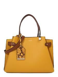 ALDO Handtasche gelb