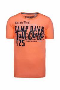 CAMP DAVID Shirt orange