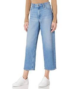 Lee Damen Wide Leg Jeans, MID SOHO, 28W / 31L