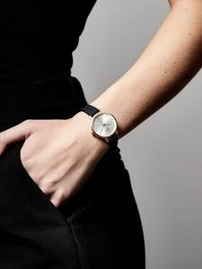 Pilgrim Uhr ''Naima'' schwarz / rosegold