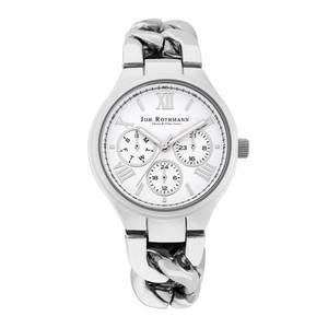 Johan Rothmann Annabell Armbanduhr silber / weiß