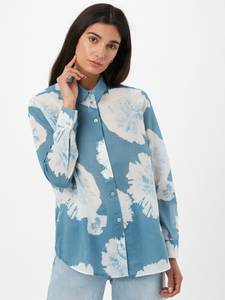 LIEBLINGSSTÜCK Bluse ''Finola'' himmelblau / weiß