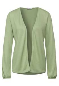 Shirtjas zonder sluiting - faded green