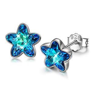 DISSONA 925 Silber Ohrringe für Frauen geschenke für schwester geschenkidee teenager mädchen ohrringe silber für damen weihnachtsgeschenke für frauen