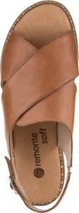 Sandale hellbraun Remonte
