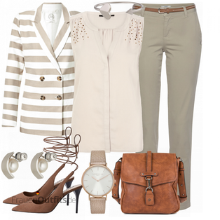 Elegantes Business Outfit FrauenOutfits.de