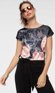 BRUNO BANANI Shirtbluse schwarz / anthrazit / altrosa / rosé / weiß