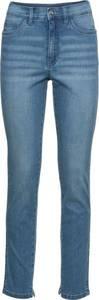 Stretch-Skinny-Jeans, knöchelfrei in blau für Damen von bonprix