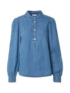 Noisy may Bluse ''NMLINDA'' blau / blue denim