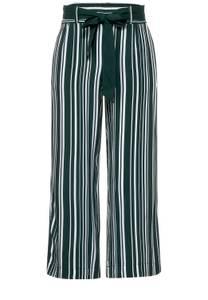 Street One Damen Loose Fit Hose mit Streifen in Grün
