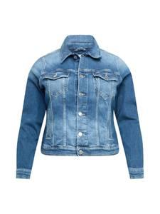 Tommy Jeans Curve Jacke blue denim