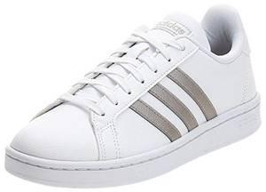Adidas GRAND COURT, Damen Hallenschuhe, Mehrfarbig (Ftwbla/Metpla/Ftwbla 000), 38 2/3 EU (5.5 UK)