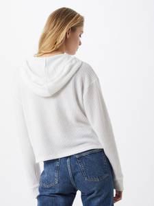 HOLLISTER Pullover weiß / nachtblau