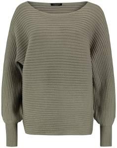 Sublevel Ladies Rib Knit Sweatshirt