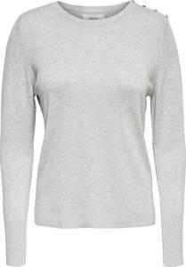 ONLY Pullover in Grau  Größe M
