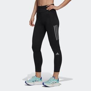 ADIDAS PERFORMANCE Sporthose schwarz / weiß