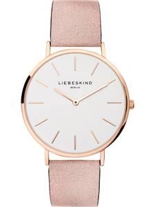Liebeskind Berlin Uhr ''LT-0157-LQ'' weiß / gold / altrosa