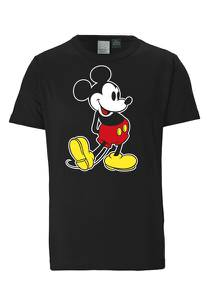 LOGOSHIRT T-Shirt ''Mickey Mouse – Classic'' schwarz