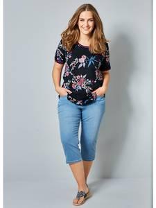 Shirt marineblau/rosé Janet & Joyce