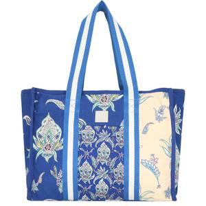Desigual Shopper blau / beige