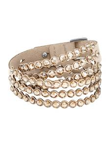 Swarovski Armband gold / hellbeige