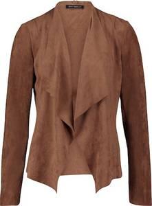 Betty Barclay Casual-Jacke ohne Verschluss dunkelbraun