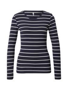 ONLY Shirt ''Fifi'' nachtblau / weiß