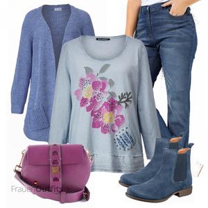 Stilvolle Große Größen Outfit FrauenOutfits.de