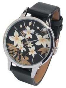 heine Armbanduhr schwarz