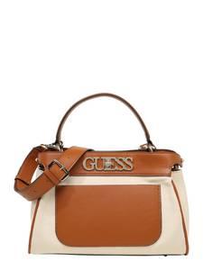 GUESS Handtasche beige / karamell