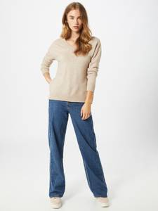 VILA Pullover ''Ril'' beige / kitt
