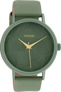 OOZOO Timepieces Groen horloge C10392 (42 mm)