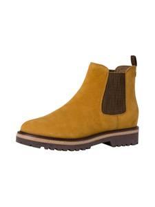 TAMARIS Boots senf / dunkelbraun