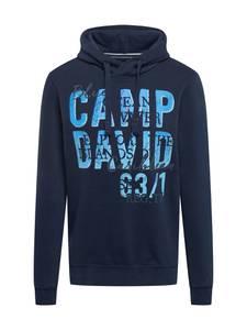CAMP DAVID Sweatshirt navy / hellblau