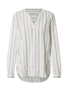TOM TAILOR DENIM Blusen & Shirts Gestreifte Tunika grau