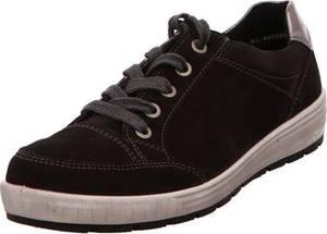 ARA Sneaker ''Nagano'' dunkelbraun / silber