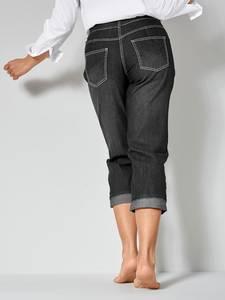 Jeans AMY Straight Cut Dollywood Schwarz