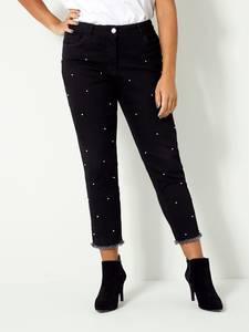 Jeans Angel of Style Schwarz