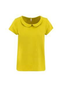 logo woven blouse