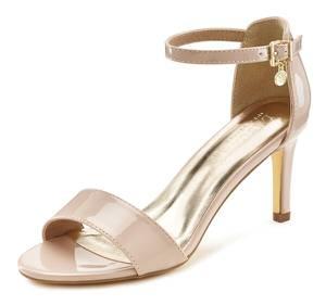 LASCANA Sandale beige / gold
