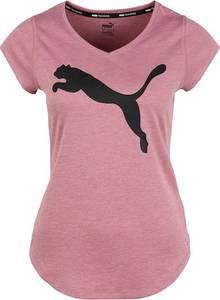 PUMA Sportshirt ''Heather Cat'' schwarz / rosé