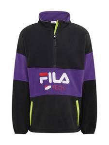 FILA Sweatshirt neongrün / lila / schwarz