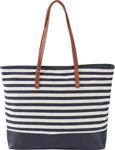 Shopper maritim in blau für Damen von bonprix