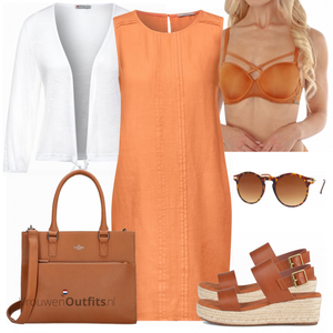 Outfit in zomerse kleuren VrouwenOutfits.nl