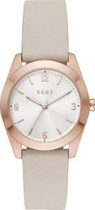 DKNY Uhr beige / rosegold / weiß