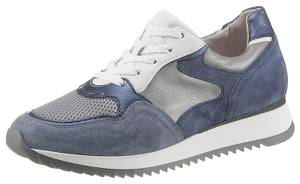 GABOR Sneaker taubenblau / marine / silbergrau
